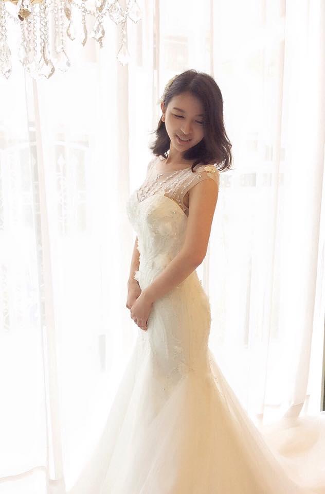 立體縫珠圖騰美背魚尾白紗 - 愛情蔓延精緻婚紗 - 台中婚紗 | 禮服出租 | 婚紗推薦