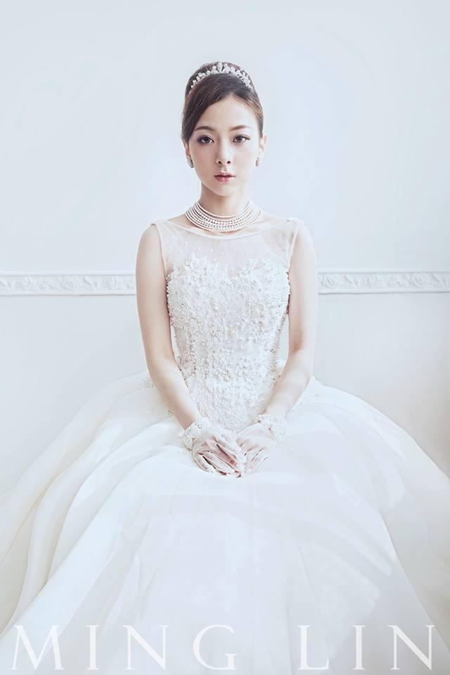 古典珍珠美背白紗 - 愛情蔓延精緻婚紗 - 台中婚紗 | 禮服出租 | 婚紗推薦