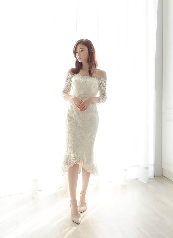 宮廷水晶蕾絲粉白紗 - 愛情蔓延精緻婚紗 - 台中婚紗 | 禮服出租 | 婚紗推薦