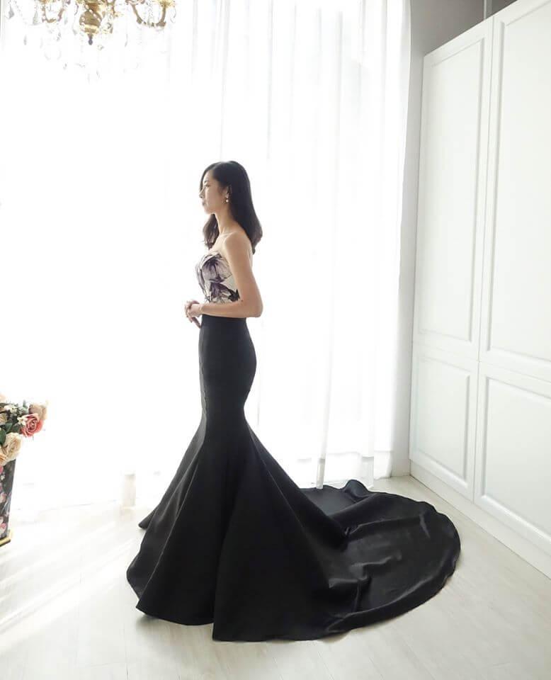 特色浮雕印花禮服變化款 - 愛情蔓延精緻婚紗 - 台中婚紗 | 禮服出租 | 婚紗推薦