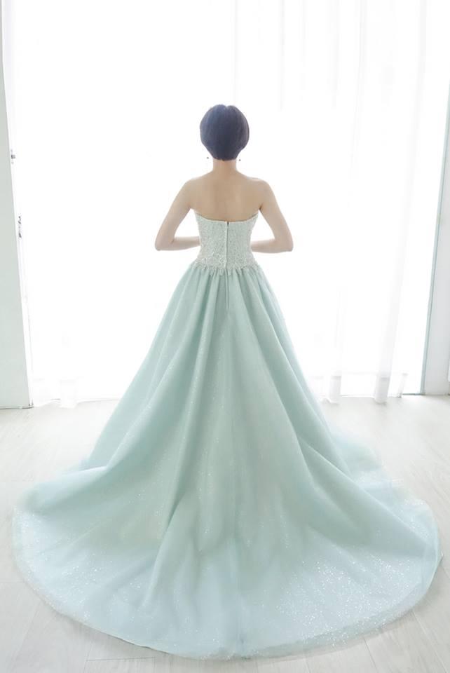 閃耀星空Tiffany禮服 - 愛情蔓延精緻婚紗 - 台中婚紗 | 禮服出租 | 婚紗推薦