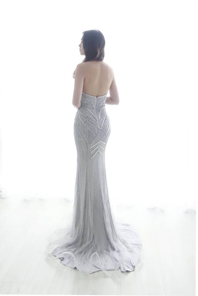 時尚銀線圖騰禮服 - 愛情蔓延精緻婚紗 - 台中婚紗 | 禮服出租 | 婚紗推薦