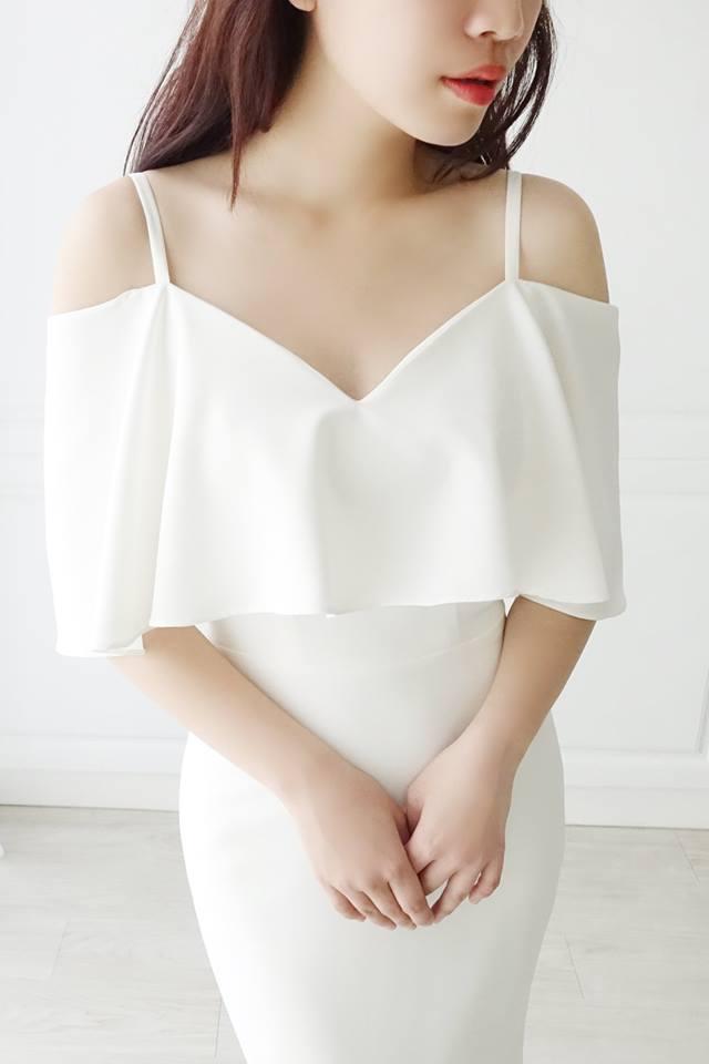 美式簡約綢緞輕白紗 - 愛情蔓延精緻婚紗 - 台中婚紗 | 禮服出租 | 婚紗推薦