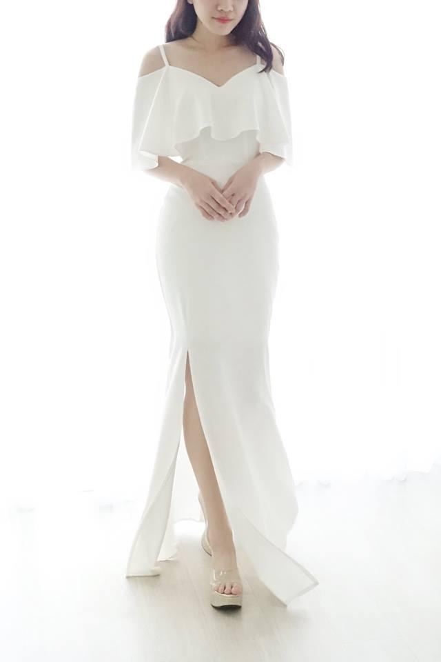 美式簡約綢緞輕白紗 - 愛情蔓延精緻婚紗 - 台中婚紗   禮服出租   婚紗推薦