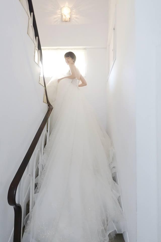 Casablanca氣勢水晶白紗 - 愛情蔓延精緻婚紗 - 台中婚紗 | 禮服出租 | 婚紗推薦