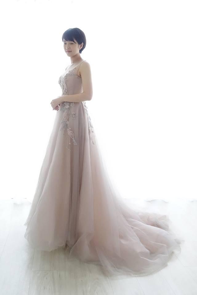 浪漫紫藕兩穿式禮服 - 愛情蔓延精緻婚紗 - 台中婚紗 | 禮服出租 | 婚紗推薦