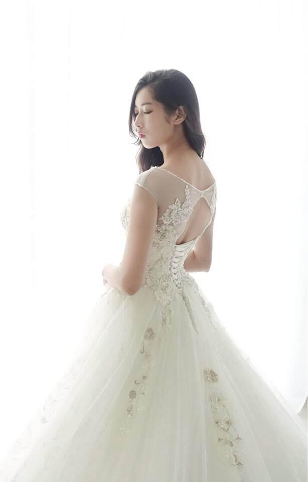 優雅白金水鑽白紗 - 愛情蔓延精緻婚紗 - 台中婚紗 | 禮服出租 | 婚紗推薦