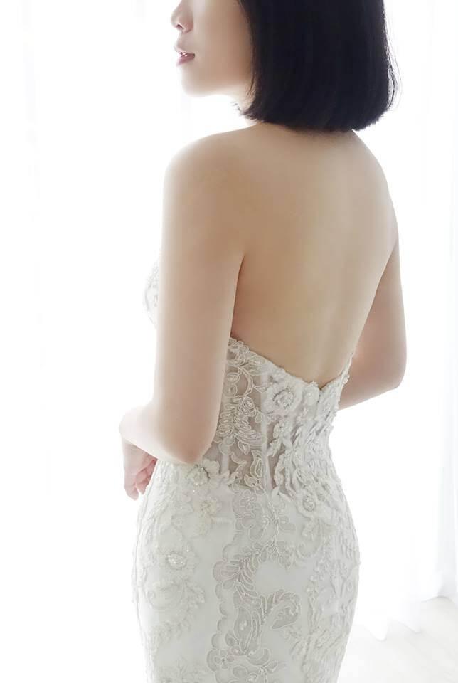 Casablanca金線縷空白紗 - 愛情蔓延精緻婚紗 - 台中婚紗 | 禮服出租 | 婚紗推薦
