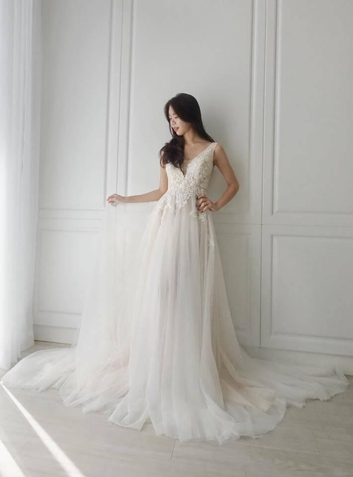 氣質女神雙色 - 愛情蔓延精緻婚紗 - 台中婚紗 | 禮服出租 | 婚紗推薦