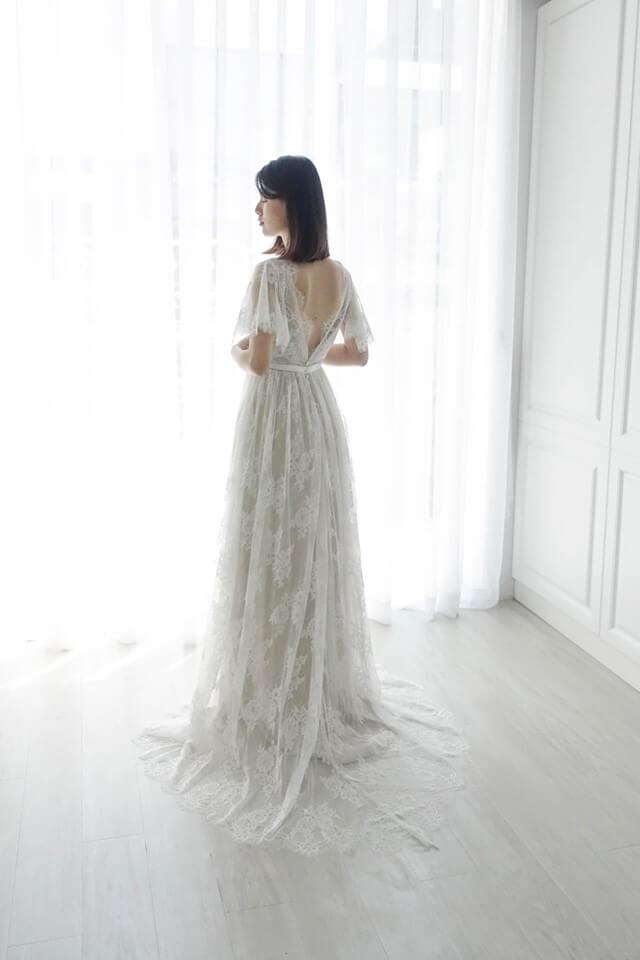 古典全蕾絲白紗 - 台中婚紗 | 禮服出租 | 婚紗推薦