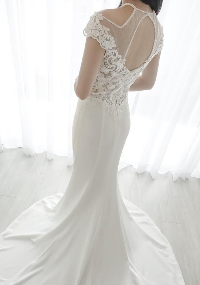 氣質珍珠魚尾 - 台中婚紗   禮服出租   婚紗推薦